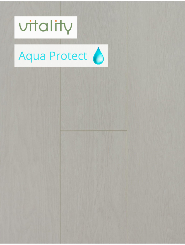 Ламінат Vitality Style Aqua Protect 4V Дуб Модерн Білий 8 мм / 32 клас