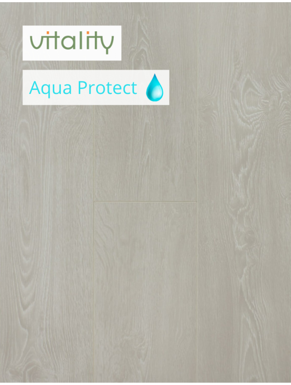 Ламінат Vitality Style Aqua Protect 4V Дуб Морозний 8 мм / 32 клас
