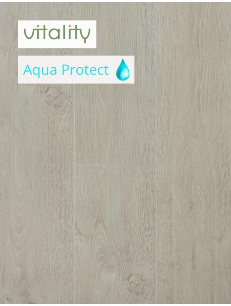 Ламінат Vitality Style Aqua Protect 4V Дуб Вибілений Сонячний 8 мм / 32 клас