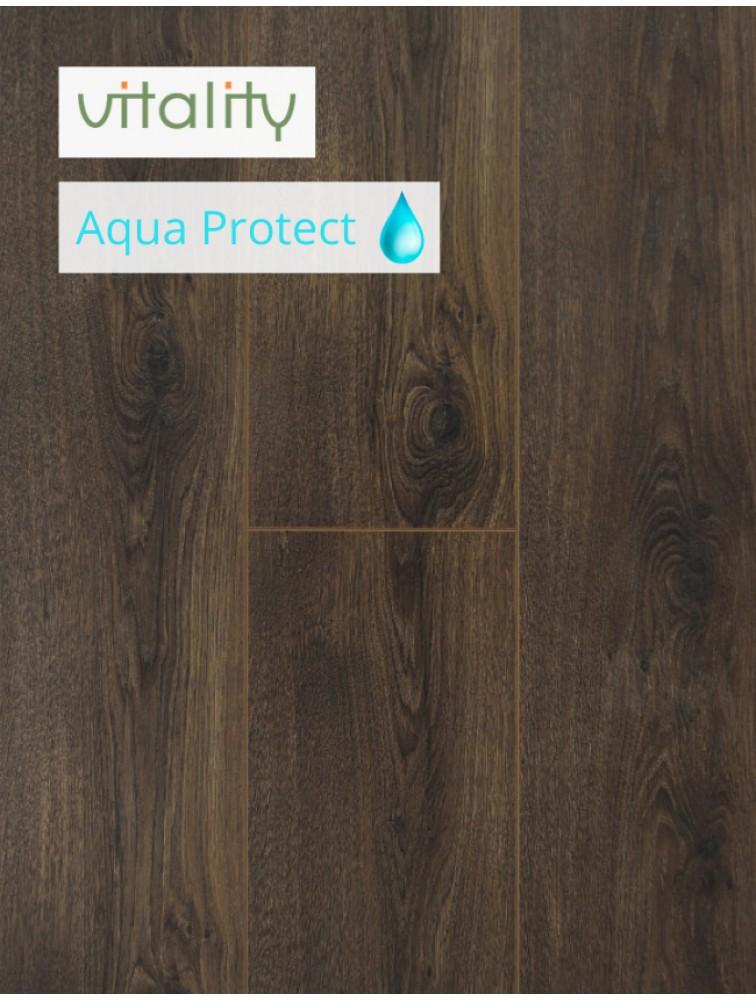 Ламінат Vitality Style Aqua Protect 4V Дуб Вікторіанський Коричневий 8 мм / 32 клас