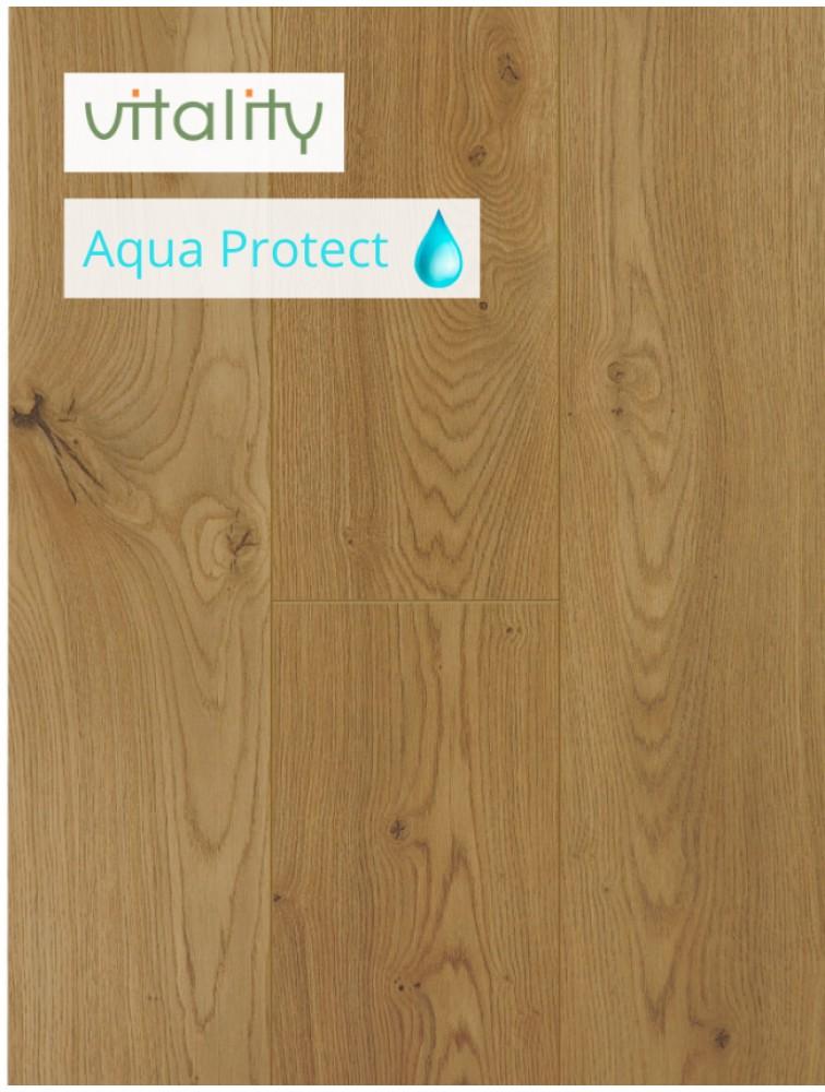 Ламінат Vitality Style Aqua Protect 4V Дуб Медовий 8 мм / 32 клас
