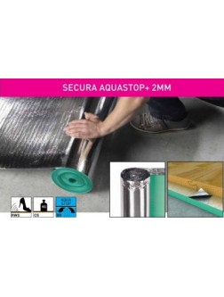 Підкладка Arbiton Secura Aquastop+ рулон 2 мм 15 м²
