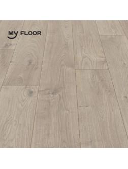 Ламінат My Floor Cottage 808 Дуб Атласний бежевий 8 мм/ 32 клас