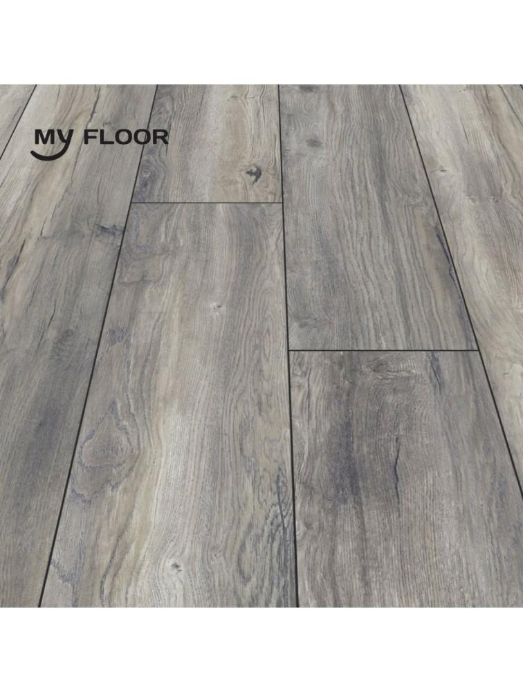 Ламінат My Floor Cottage 821 Дуб Портовий Сірий 8 мм/ 32 клас