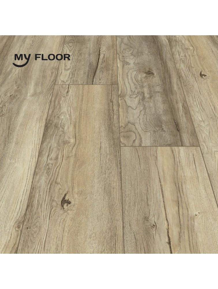 Ламінат My Floor Cottage 839 Дуб Портовий бежевий 8 мм/ 32 клас