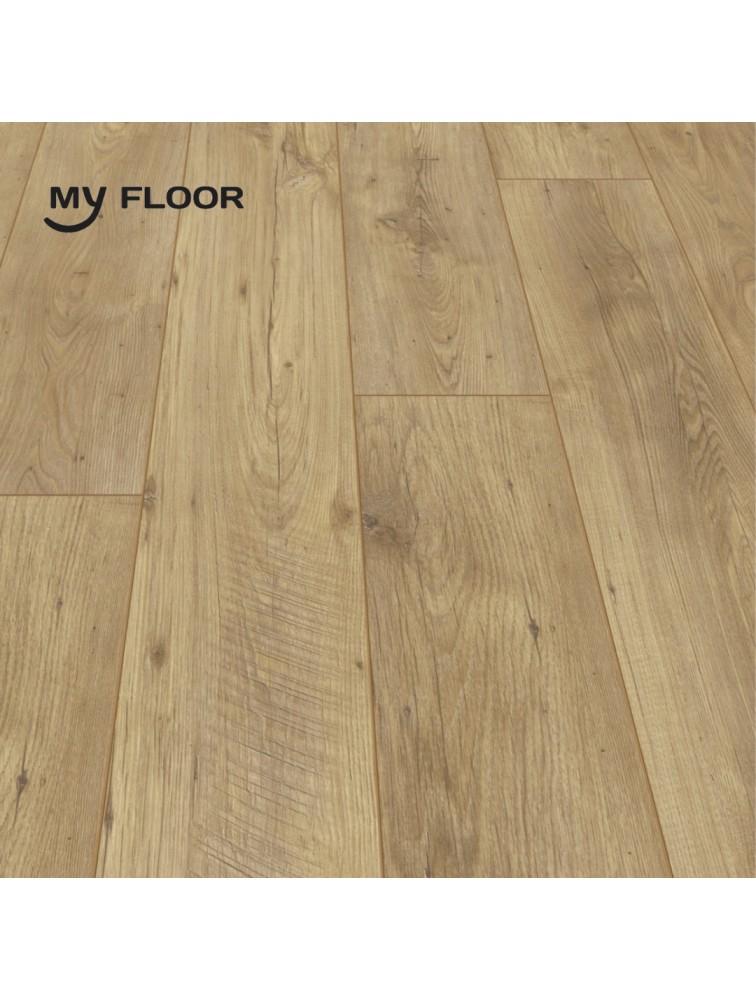 Ламінат My Floor Chalet M1008 Каштан Натуральний 10мм/ 33 клас