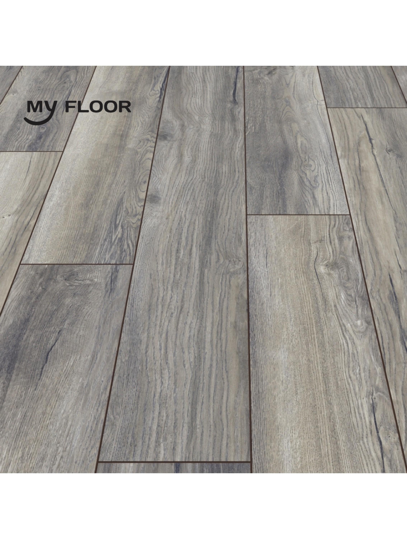 Ламінат My Floor Villa M1204 Дуб Портовий сірий 12 мм/ 33 клас