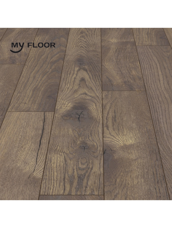 Ламінат My Floor Villa M1221 Дуб Петтерсон Темний 12 мм/ 33 клас