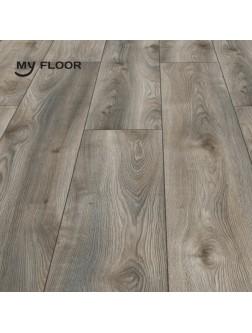 Ламінат My Floor Residence ML1011 Дуб Макро Сірий 10 мм/ 33 клас