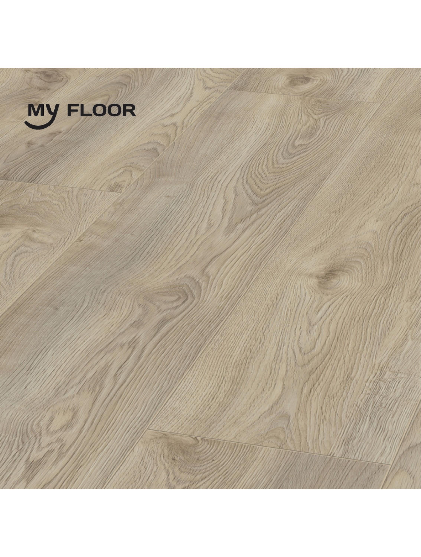 Ламінат My Floor Residence ML1018 Дуб Макро Бежевий 10 мм/ 33 клас