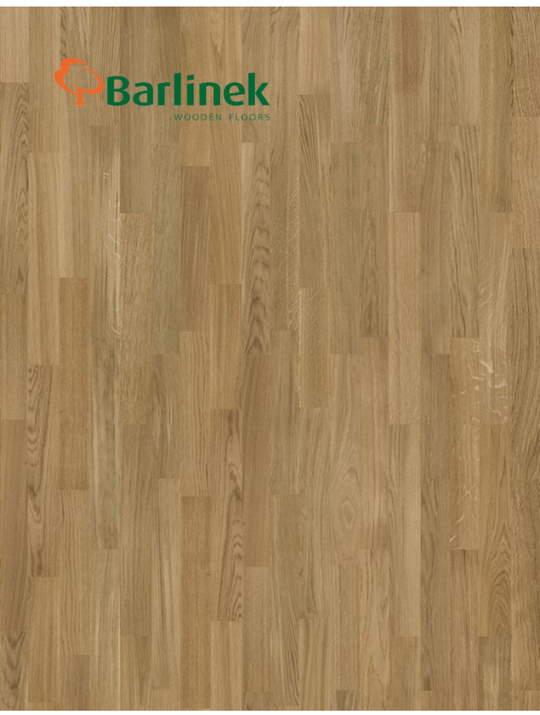 Трисмугова паркетна дошка Barlinek Life Line Дуб Amazon Molti