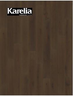 Однополосная паркетная доска Karelia  ДУБ STORY 138 CINDER DARK