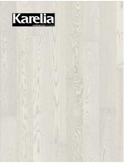 Однополосная паркетная доска Karelia ДУБ STORY 138 ELECTRIC LIGHT