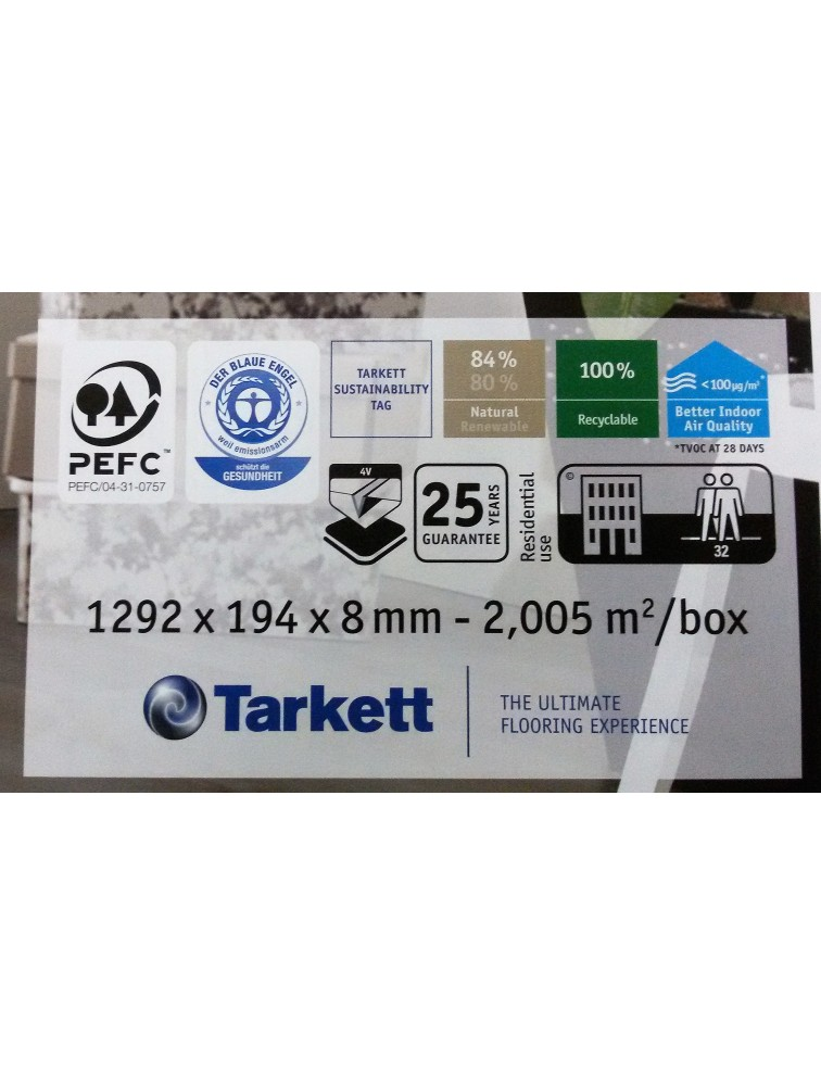 Ламінат Tarkett Woodstock 832 Дуб Шервуд Мокко 8153216 4V
