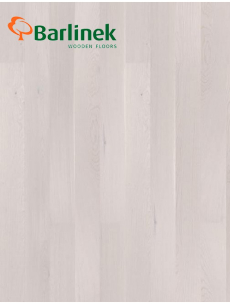Однополосна Паркетна дошка Barlinek Pure Line Дуб White Truffle Grande
