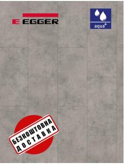 Ламінат EGGER PRO AQUA+ EPL166  Бетон Чикаго світло-сірий 4V 8 мм / 32 клас