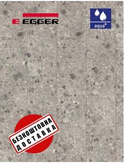 Ламінат EGGER PRO AQUA+ EPL207 Тераццо Тріестіно сірий 4V 8 мм / 32 клас